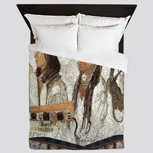 Indian Portraits Queen Duvet