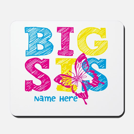 Butterfly Big Sis Mousepad
