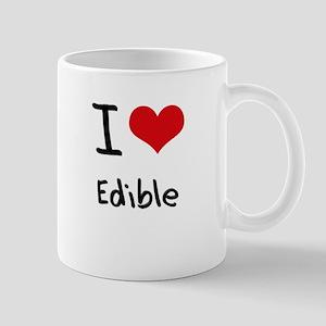 I love Edible Mug