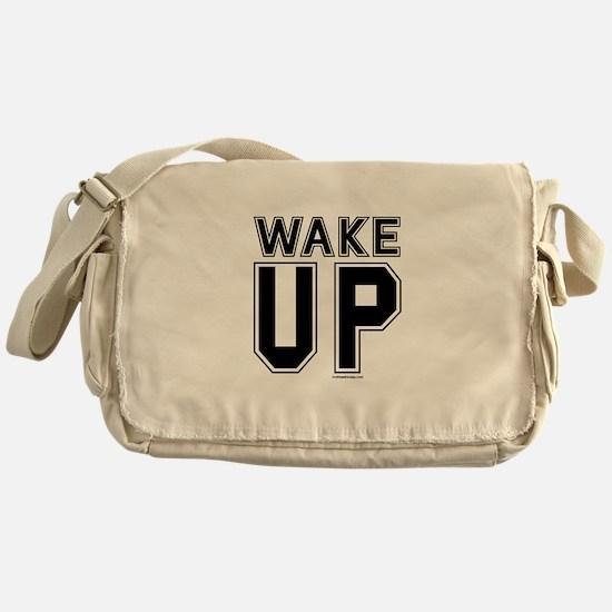 Wake Up! Messenger Bag