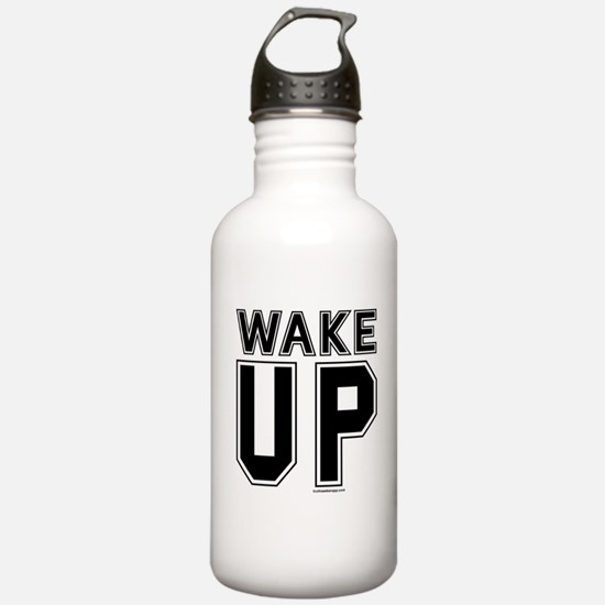 Wake Up! Water Bottle