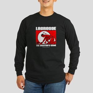 Lacrosse - DrawMan - The Crea Long Sleeve Dark T-S