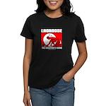 Lacrosse - DrawMan - The Crea Women's Dark T-Shirt