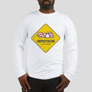 Baby Construction Zone Long Sleeve T-Shirt