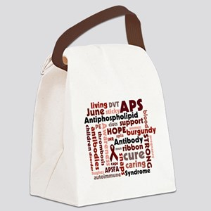 Cluster Canvas Lunch Bag