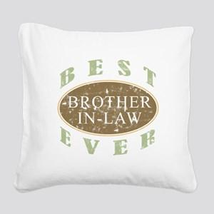 Best Brother-In-Law Ever (Vintage) Square Canvas P
