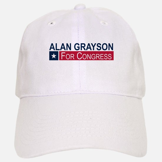 Elect Alan Grayson Baseball Baseball Cap