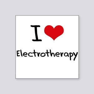 I love Electrotherapy Sticker