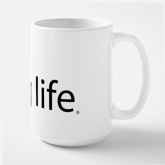 Pug Life Simple Large Mug
