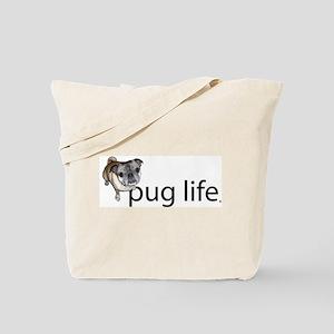 Pug Life Simple Tote Bag