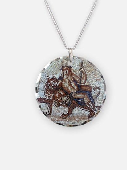 Bacchus God of Wine Necklace