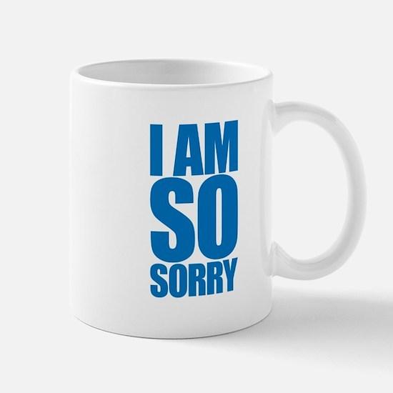 I am so sorry. Big apology. Mug