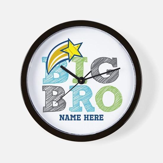 Star Big Bro Wall Clock