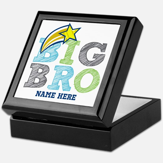 Star Big Bro Keepsake Box