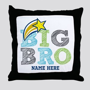 Star Big Bro Throw Pillow