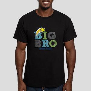 Star Big Bro Men's Fitted T-Shirt (dark)