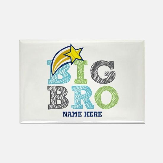 Star Big Bro Rectangle Magnet