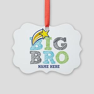Star Big Bro Picture Ornament