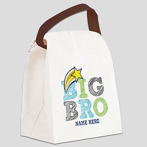 Star Big Bro Canvas Lunch Bag
