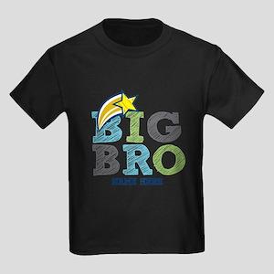 Star Big Bro Kids Dark T-Shirt