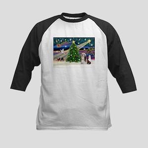 XmasMagic/Lhasa 4 Kids Baseball Jersey