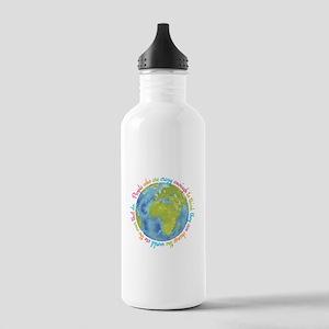 Change the world Water Bottle