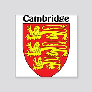 Cambridge Rectangle Sticker