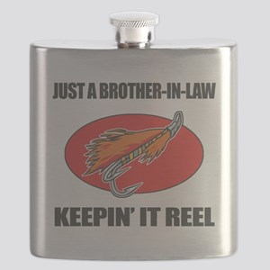 Brother-In-Law Fishing Humor Flask