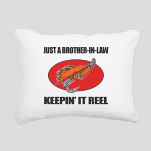 Brother-In-Law Fishing Humor Rectangular Canvas Pi