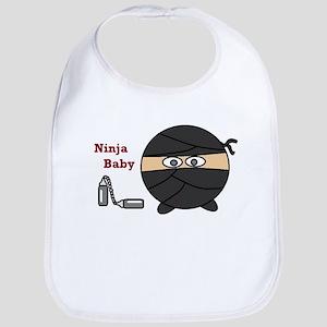 Ninja Baby Bib