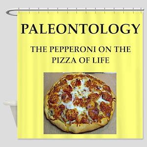 paleontology Shower Curtain
