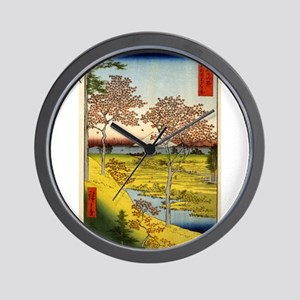 Hiroshige Ando - Sunset Hill Meguro In The Eastern