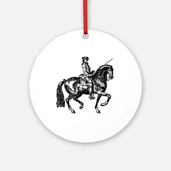 Piaffe Ornament (Round)