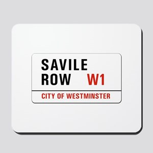 Savile Row, London - UK Mousepad