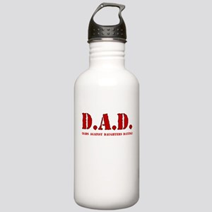 DAD DADS AGAINST DAUGHTERS DATING Water Bottle