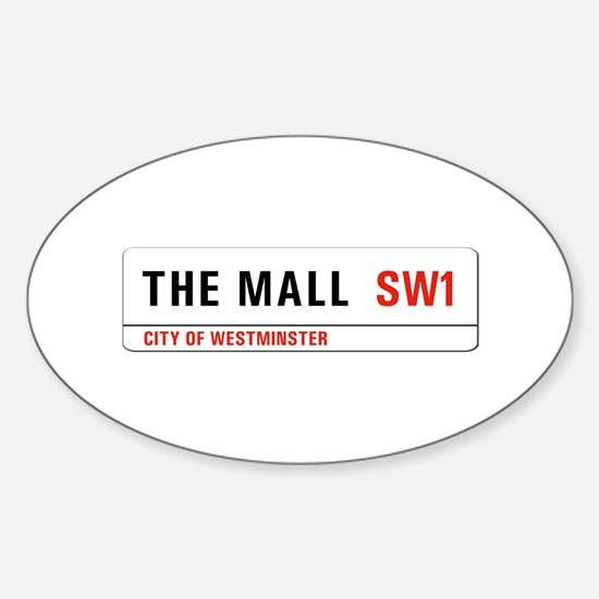 The Mall, London - UK Oval Decal