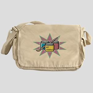 Art Therapy Messenger Bag