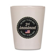 Second Amendment Shot Glass