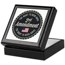 Second Amendment Keepsake Box