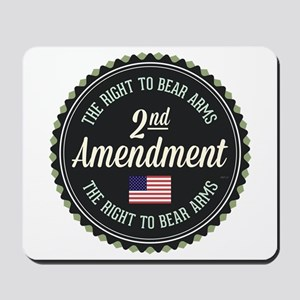 Second Amendment Mousepad