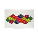 Number One Numero Uno Rectangle Magnet (10 pack)
