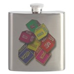 Number One Numero Uno Flask