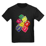 Number One Numero Uno Kids Dark T-Shirt