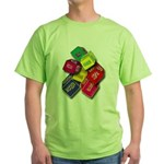 Number One Numero Uno Green T-Shirt