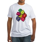 Number One Numero Uno Fitted T-Shirt