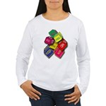 Number One Numero Uno Women's Long Sleeve T-Shirt