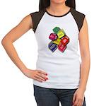 Number One Numero Uno Women's Cap Sleeve T-Shirt
