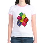 Number One Numero Uno Jr. Ringer T-Shirt