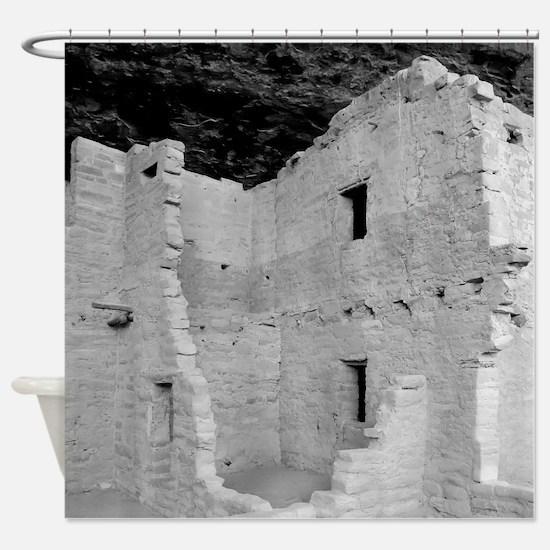 Unique Cliff dwellings Shower Curtain