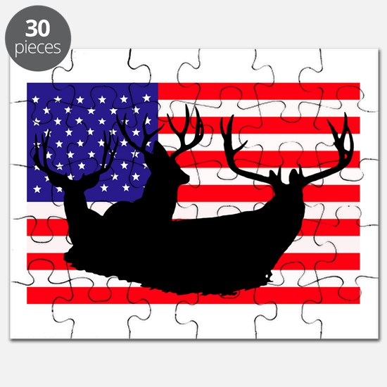 Patriotic hunter Puzzle